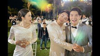 ✅  Đám cưới Đông Nhi - Ông Cao Thắng: Ngô Thanh Vân bất đắc dĩ nhận hoa của cô dâu, Trúc Nhân được