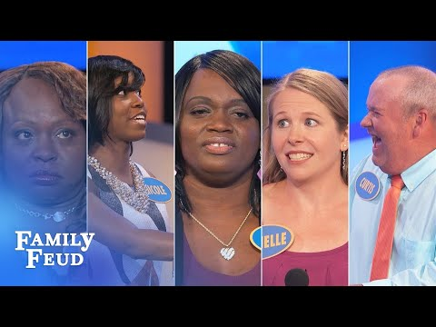 TOP 5 MOMENTS FROM NOVEMBER 2017! | Family Feud