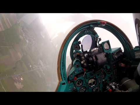 HRZ i PZO na Zrakoplovnom danu u Velikoj Gorici – AIRVG2017 - pogled iz kabine MIG-21