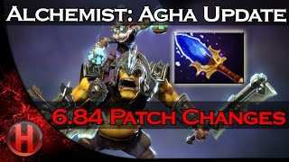 6.84 Patch Changes Dota 2 - Alchemist Aghanim's Scepter Update