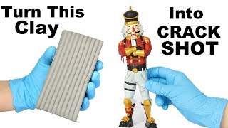 Download How To Sculpt CRACKSHOT from Fortnite (polymer clay tutorial) Mp3 and Videos