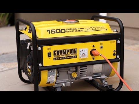 Top 5 Portable Gas Generators