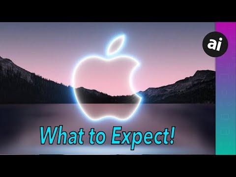 À quoi s'attendre lors de l'événement Apple du 14 septembre! iPhone 13, Apple Watch Series 7 et plus ?!