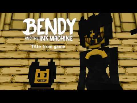 Improved: Bendy And The Ink Machine! MCPE ADDON