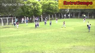 Sportivo Artigas 1 (4) - Lomas Valentinas 1 (2)