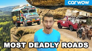 The MOST DANGEROUS ROADS in the world!