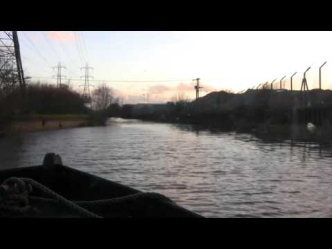 Speeded up Canal Journeys - River Lee - Enfield Lock to Ponders End