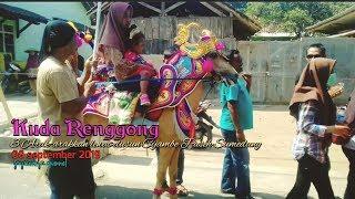 3 arak-arakan kuda renggong lewat dusun Cijambe Paseh Sumedang