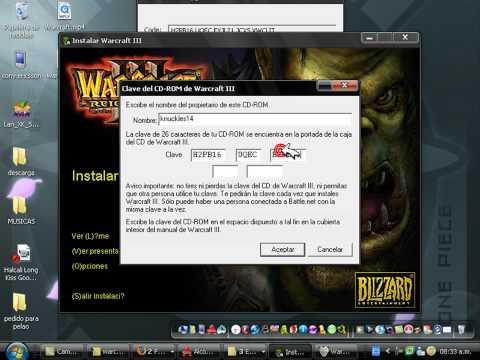 Warcraft III tutorial de instalacion