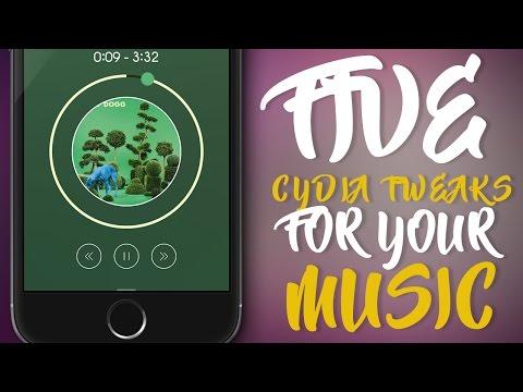 FIVE BEST CYDIA TWEAKS FOR YOUR MUSIC - iOS 9 - 9.3.3 Jailbreak Cydia Tweak