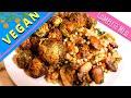 Healthy VEGAN Dinner ✶ Brussels Sprouts & Israeli Couscous ✶ EASY VEGAN MEAL PREP