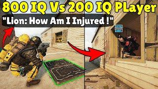 When 200 IQ Pląyer Gets Baited By 800 IQ Team - Rainbow Six Siege Crimson Heist