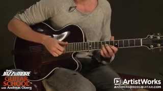 Guitar Lessons with Andreas Oberg: Jazz Comping