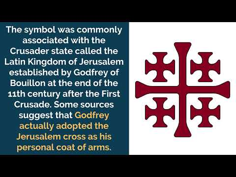 Jerusalem Cross, Its Meaning and Origins