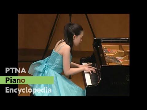 2008ピティナ・入賞者記念コンサート 中村芙悠子/シューベルト:3つのピアノ曲 D.946 第1番 変ホ長調