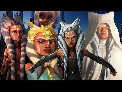Every Version of Ahsoka Tano