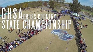GHSA Cross Country State Championship 2014 - Aerial Coverage