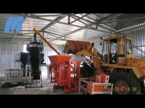 Завод вибропрессующих установок  поставил в Новую Усмань МАСТЕК-Максимал с бетонным заводом