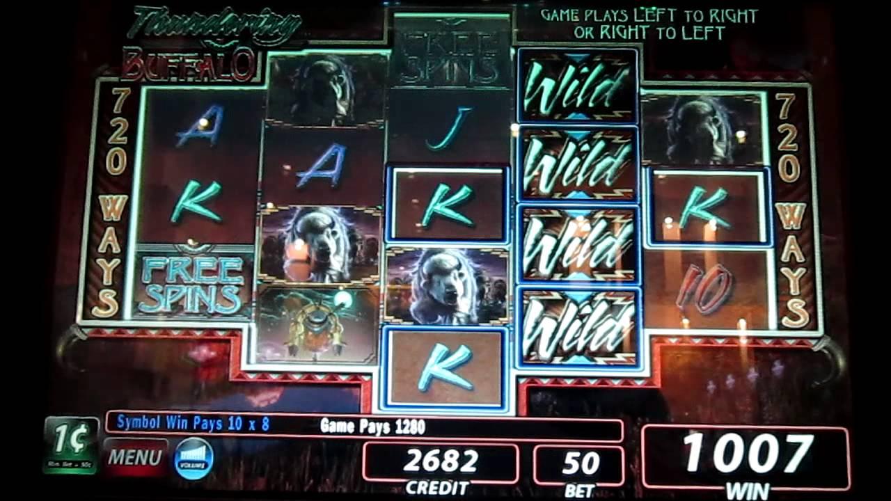 Thundering Buffalo Slot Machine