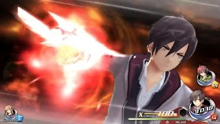 Eight minutes of Tokyo Xanadu combat gameplay
