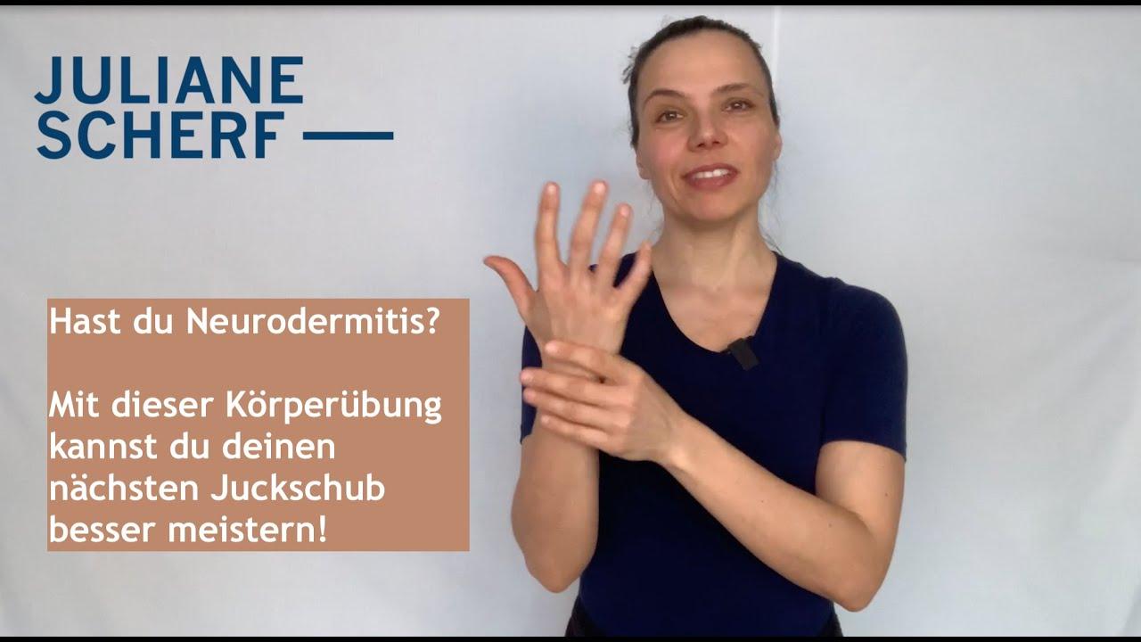 Hast du Neurodermitis? Mit dieser Körperübung kannst du deinen nächsten Juckschub besser meistern!