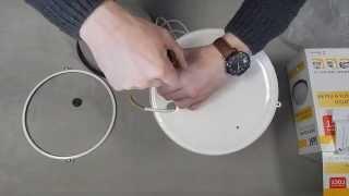 Обзор светильника НПП1101 белый/круг 100Вт IP54 ИЭК
