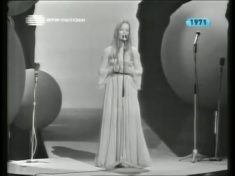 """Tonicha - Menina (do Alto da Serra)"""" (Festival da Canção 1971)"""