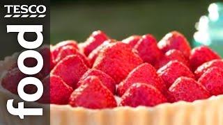 How To Make Strawberry And Mascarpone Tart | Tesco Food