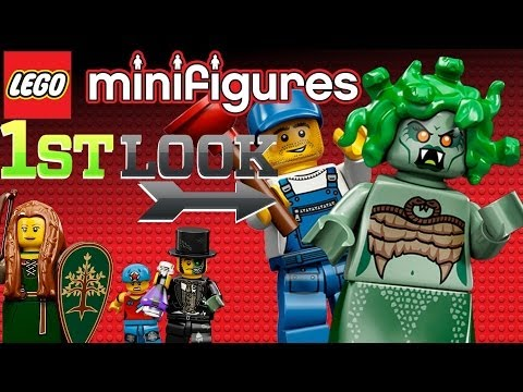 LEGO Minifigures Online - First Look - YouTube