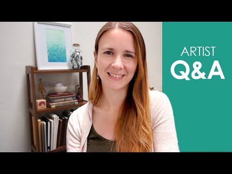 Live Artist Q&A with Naomi - Art Inspiration, my process & more!