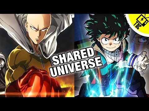 Do One Punch Man and My Hero Academia Share a Universe? (The Dan Cave w/ Dan Casey)