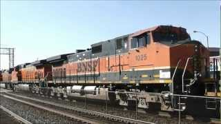 Railfanning All Over on 26.02.12: BNSF, UP, NS, CN and Amtrak