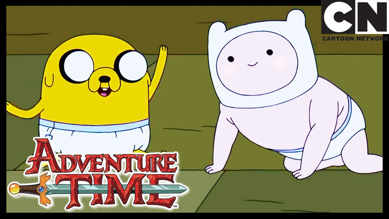 Adventure Time Baby Finn And Jake The First