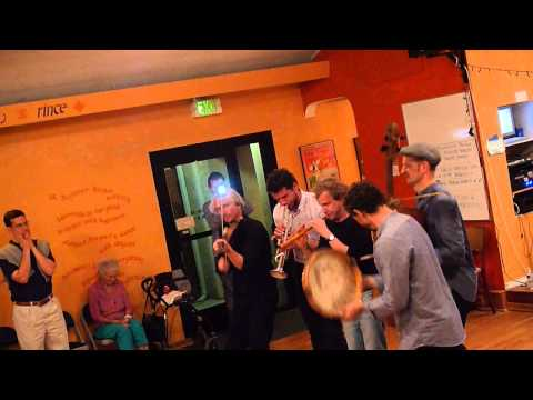 Music from Folk Dancing Rooms: Prusinowski Trio at San Diego Folk Dance Center Travel Video