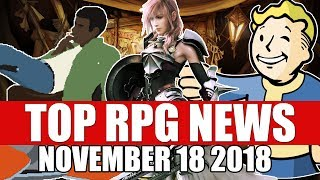Top RPG News of the Week - Nov 18 2018 (Desert Child, FFXIII, Microsoft Studios)
