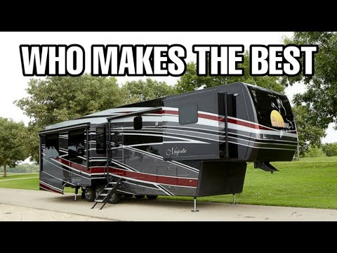 The BEST Fifth Wheel RV Brands And The Differences!