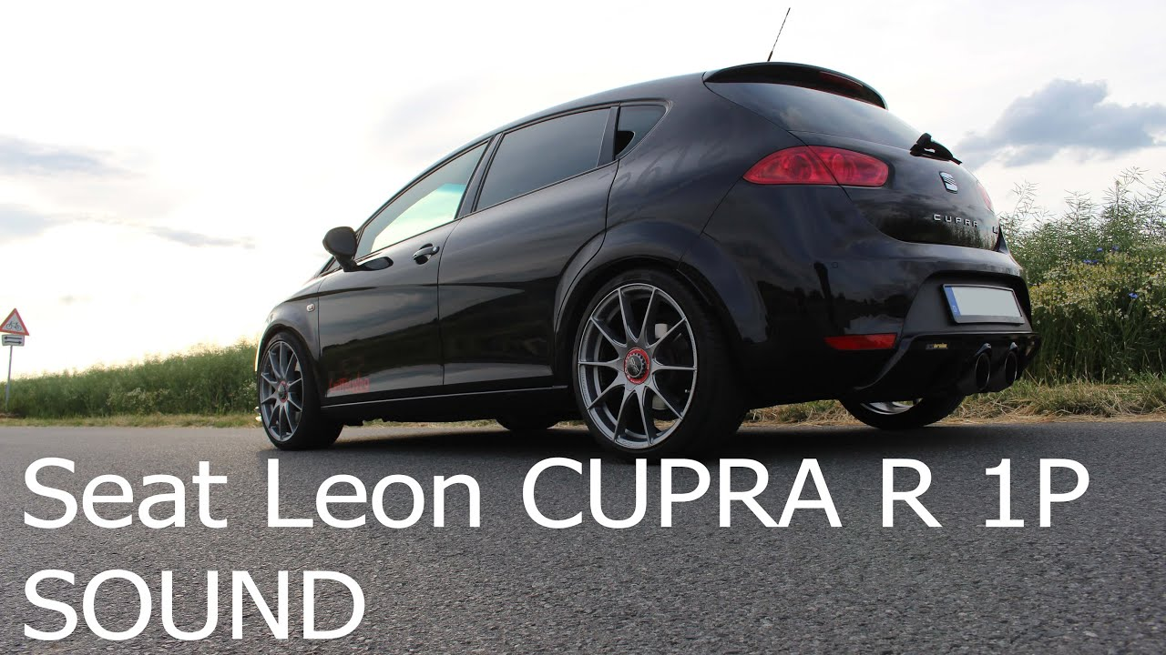 seat leon cupra r 1p auspuff sound 2 0 tfsi youtube. Black Bedroom Furniture Sets. Home Design Ideas