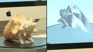 How MakerBot's 3D scanner works