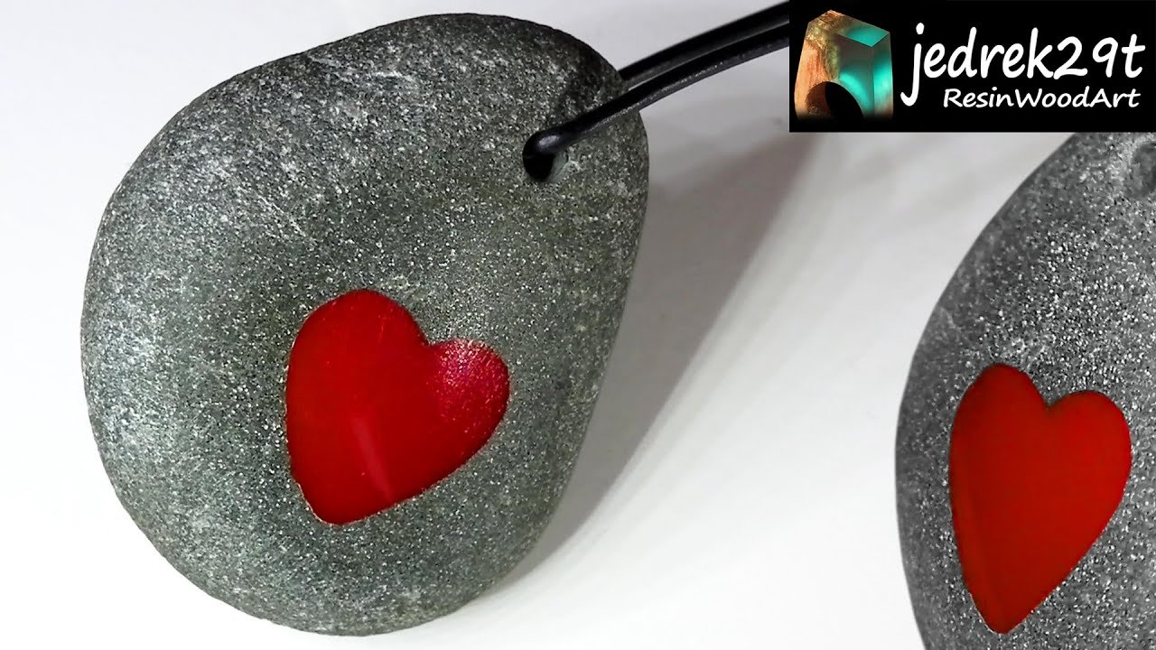 HEART from Resin  DIY  Valentine's Day / ART RESIN