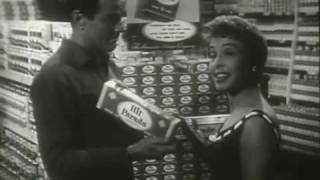 Marge and Gower Champion cigarette commercial