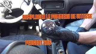 Remplacer le pommeau de vitesse - [Peugeot 206]