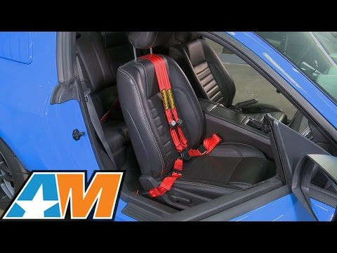 2005-2017 Mustang Schroth QuickFit Pro Harness Review & Install