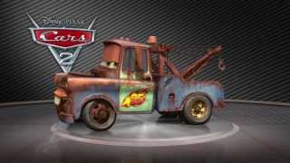 Pixar Cars 2 - Turntable Tow Mater (2011) (High Def)