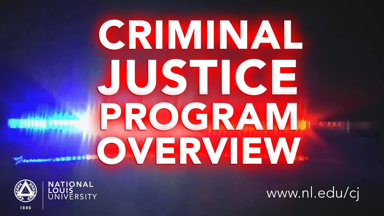 why criminal justice