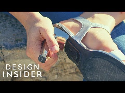 Removable Heels Turn Shoes Into Flats