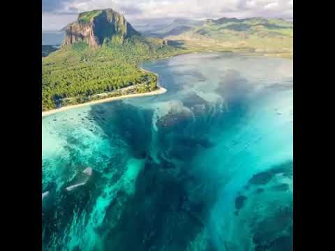 Mauritius Sualtı Şelalesi
