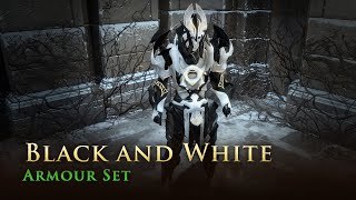 Path of Exile: Black and White Armour Set