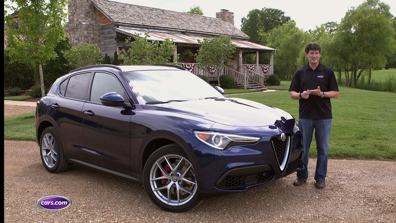 2018 Alfa Romeo Stelvio Review Youtube