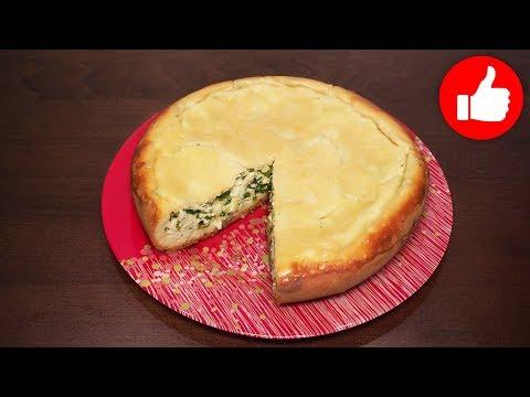 пирог с зеленым луком и яйцами рецепт пошагово