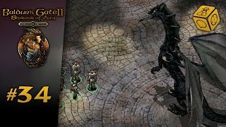 An optional dragon fight? - Let's Play Baldur's Gate 2: Shadows of Amn #34